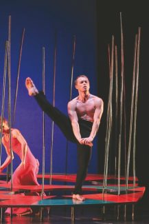 Special to the DailyOn Tuesday, dancer Tadej Brdnik's one day off this week, he had breakfast with longtime New York City Ballet principal Wendy Wheelan and then hiked Berry Picker trail on Vail Mountain to try to acclimate to the altitude and thin air, he said.
