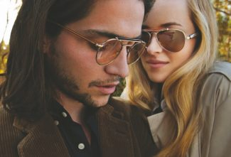 Special to the DailyThe Oliver Peoples eye wear collection was inspired by  vintage frames purchased at an estate sale.
