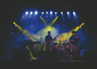 Special to the DailyThe Malai Llama is a four-piece instrumental band that combines genres like jazz, rock, hip hop and electronica in a psychedelic fusion.