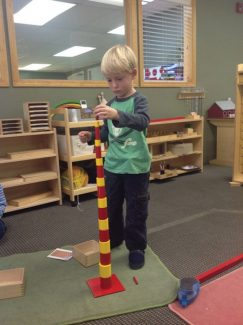 Big birthday wishes go out to our friend Andrew today! He is five, time to play! Happy birthday, Andrew! Love, Martha, Nikki and all your friends at Mountain Montessori.