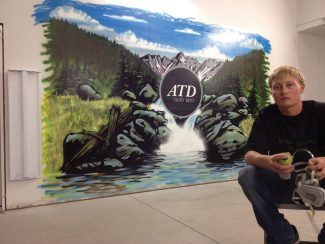 William Thompson, of Edwards, will be holding an art exhibit today at