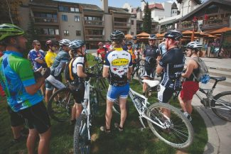 Special to the DailyOn Saturday, Run, Ride, Refresh participants will have the rare opportunity to take a guided trail ride on Vail Mountain, led by Matt Phillips, gear editor for Bicycling Magazine.