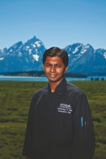 Special to the DailyChef Vishwatej Nath joins The 10th most recently from Vail Resorts' Grand Teton Lodge Company (GTLC) where he led all culinary operations for Jackson Lake Lodge, AAA Four Diamond Jenny Lake Lodge, Colter Bay Village and Flagg Ranch Resort.