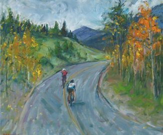 """Special to the Daily""""East Vail Bikers,"""" by Ian Clark."""