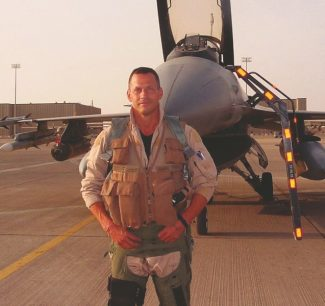 """Special to the DailyLt. Colonel Dan Hampton flew 151 combat missions, recieved three distinguished Flying Crosses with Valor, as well as a Purple Heart. He writes about his experience as a F-16 Fighter pilot in his new book """"Viper Pilot: A Memoir of Air Combat."""""""