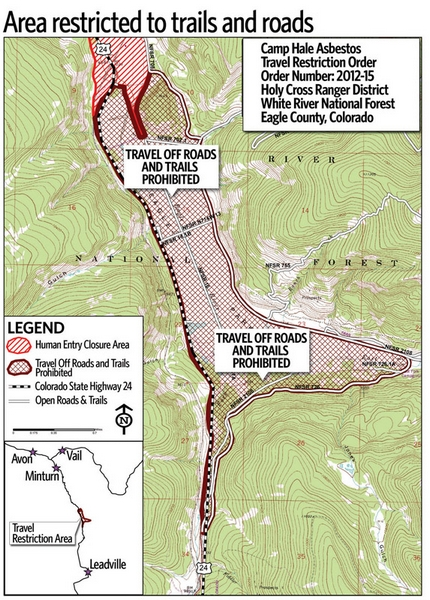 Cleanup planned after asbestos found | VailDaily.com on arapahoe basin co map, minturn co map, maricopa co map, park city co map, durango co map, fraser co map, cottonwood co map, mount evans co map, southglenn co map, molina co map, cherry hills co map, maroon bells co map, placer valley co map, gilpin county co map, floyd hill co map, monarch pass co map, coal creek co map, red rock co map, young co map, vernon co map,
