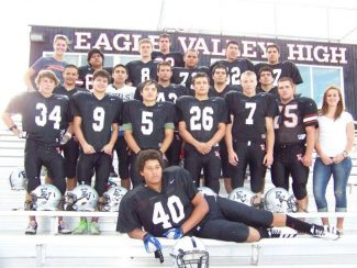 Senior Night for Eagle Valley Football is this Friday and will begin before kickoff at 6:15 p.m. at Hotstuff Stadium. Come help honor the Class of 2013 seniors and their parents, and then cheer them on to a victory against Palisade!