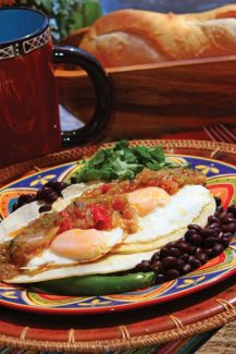 Billy Doran | Special to the DailyTry tomatillo salsa atop eggs cooked over easy, or to your preference.