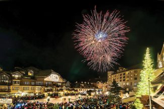 Everyone yelled, cheered and had a super time at the Beaver Creek tree lighting on Friday. Photos by Jon Sheppard.