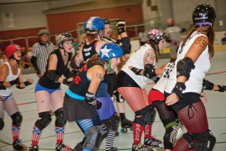 Special to the DailyOn Saturday, the 10th Mountain Roller Derby team will play using the new rule set, which streamlines the game.