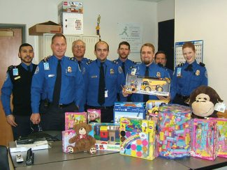 These toys were donated by the TSA staff at the Eagle County Airport — we hope the kids enjoy them.