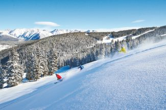 Jack Affleck | Vail ResortsVail Mountain will expand its open terrain to 950 acres today, including Northwoods and Game Creek Bowl.
