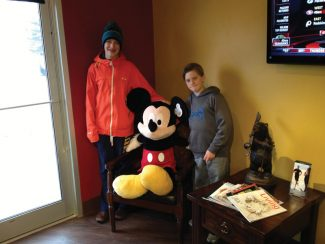 Congratulations to Phillipe for winning the Mickey Mouse giveaway at