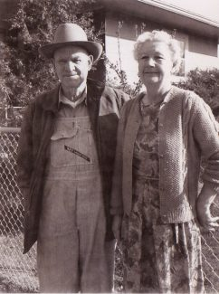 Henry and Leona Antholz. Their ranch stretched over what is now Ford Park and part of Golden Peak.