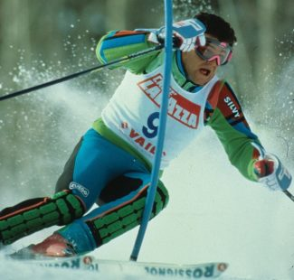 Italian World Cup star Alberto Tomba was one of the main attractions when Vail hosted the 1989 World Alpine Ski Championships.