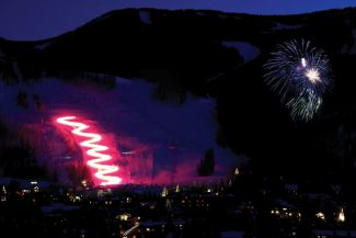 Vail Family Holidaze wraps up tonight with New Year's activities for the whole family. Enjoy a favorite Vail tradition with the Torchlight Parade on Golden Peak starting at 6:15 p.m. The Torchlight Parade will be immediately followed by a fireworks display that will light up the night sky over Vail Mountain. After the fireworks, families are invited to the top of the Eagle Bahn Gondola to Adventure Ridge for the Family New Year's Celebration.The gondola ride and select activities at Adventure Ridge are complimentary, and packages will be available to purchase that will include discounted dinner and activities to keep the fun going throughout the evening. All children at the Family New Year's Celebration must be accompanied by an adult.