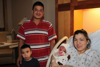 Meet Vail's first baby of 2013, Christopher David, born Jan. 2 at the Vail Valley Medical Center. Parents Jose David Gutierrez and Laura Ruelas, along with big brother Samuel, were showing off Christopher to friends and family. Jose is originally from Honduras and Laura is from Chihuahua, Mexico, but now live in Avon. Congratulations to the family and best of luck in 2013!