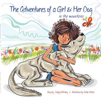 "Special to the DailyThe cover of Dagny McKinley's ""The Adventures of a Girl & Her Dog,"" which the author will be reading during The Bookworm's weekly toddler story time on Monday in Edwards."