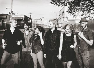 Special to the DailyThe band Delta Rae is made up of siblings Ian, Eric and Brittany Holljes, along with Elizabeth Hopkins, Mike McKee and Grant Emerson.