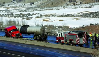 NWS I-70 Truck Accident DT 2-7-13