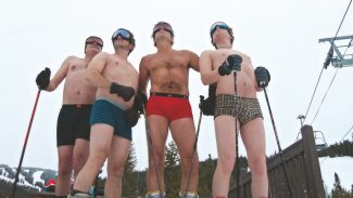"Special to the DailyRecently the cast members of ""The Full Monty"" skied in Vail to help raise awareness for the upcoming dinner theater show."