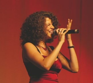 Special to the DailyCyrille Aimee recently won first place in the Sarah Vaughan international jazz competition.