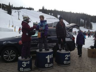 Sean Roley and Isabelle Deforestwere among the VSSA students and SSCV athletes that were on the podium at last weekend's USASA Boardercross and Skiercross Race at Copper Mountain. A huge thanks goes out to their coach,MacKenzie Ryan!