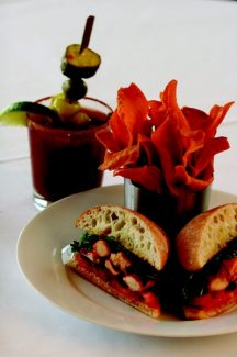 "Josh Stevenson | Flashpoint PhotographyThe Bloody Mary at Larkspur Restaurant in Golden Peak in Vail is served with a house made ""Stevenson Pickle,"" created by bartender Josh Stevenson in 1999. ""Shellfish, spices and tomatoes are a classic flavor combination, and nothing is more decadent that enjoying a well-made bloody mary with a Lobster Rocket Club,"" said Larkspur Executive Chef Richard Hinojosa."