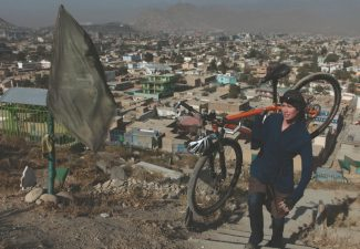 Special to the DailyA humanitarian and women's rights advocate, Shannon Galpin had been trying to summit Anjuman Pass in the heart of the Panjshir Province in northern Afghanistan, a country where women aren't allowed to ride bicycles.