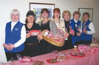 Jeanie Chatterton, Gail Nash, Linda Nielson, Jacquie Landt, Sandy Jacaruso, Marilyn Gill, Margo Welch