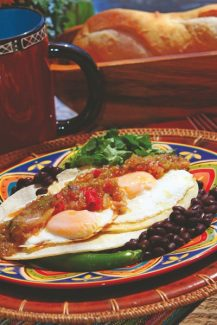 Special to the Daily/Billy DoranReplace chicken or steak with eggs for a quick and tasty meatless dinner.