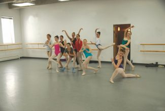Special to the Daily/Joanne MorganDancers rehearse for the Vail Youth Ballet Company Student Showcase.