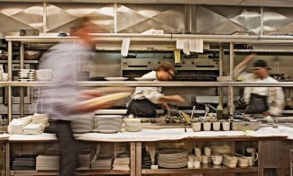 Special to the DailyPeek in the kitchen at Leonora in Vail on a busy night and you're likely to see a blur of activity.
