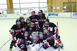 """Congratulations, Eagle Mites for a great job at the Taos, NM tournament!  Extra """"shout out"""" to goalie Logan Gremmer aka: The Garage Door!"""