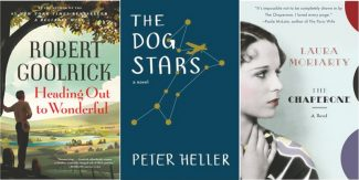 Special to the DailyBooks in Bloom will bring three acclaimed authors: Robert Goolrick, Peter Heller and Laura Moriarty  to town on May 18.
