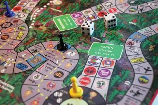 Aspen has a spot on the Colorado Cannabis Craze board game, available at One Love Aspen, a Mill Street smoke shop.