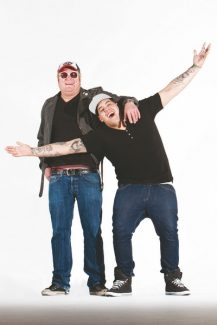 Special to the DailySublime founding member Eric Wilson, left, poses with Rome Ramirez, the lead vocalist for their group Sublime with Rome.