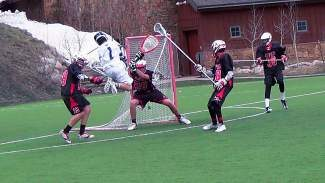 Eric Verratti (1) and the Vail Mountain School boys lacrosse team had a big Saturday down in Grand Junction with two wins.