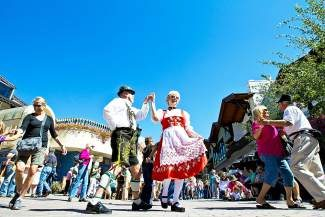 Oom-pah music, yodeling and Bavarian music take the stage at Vail's Oktoberfest, which arrives at Lionshead Village Friday through Sunday.