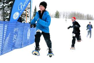 BEAVER CREEK: ON THE MOUNTAIN — The Beaver Creek Snowshoe Adventure Race Series included competitive 10-kilometer and 5-K races and a Kids' K on each of the three race dates in January and February. All told, competitors collectively covered 2,123.6 miles of terrain in the series.