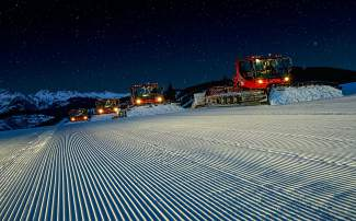 VAIL: ON THE MOUNTAIN — Two years ago, Vail installed a data collection system on its snowcats that has led to a reimagining of the way the resort does its grooming. Vail's 29 snowcats groomed 40,000 acres of terrain this season.