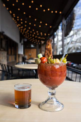 VAIL: AROUND TOWN — Westside Cafe's Bloody Mary comes in three flavors: bacon, habanero (called spicy) or regular. The restaurant estimates it served roughly 15,000 Bloodys this winter.