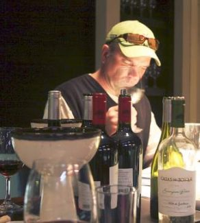 Wine importer Robert Fowles of Table 31  imports will pour five
