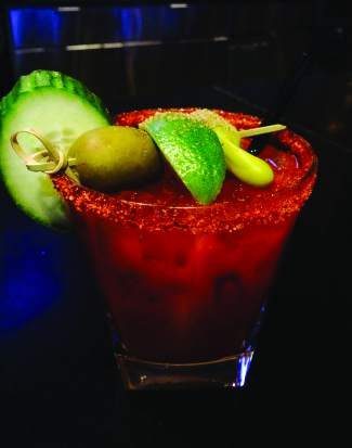 Blanco tequila is used to make the bloody maria at Maya in Avon.