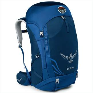 Osprey Ace Kids' Backpack (38 liter: $140; 50 liter: $160, Ptarmigan Sports).