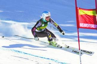 Julia Mancuso, shown here during the Raptor World Cup training in November at Beaver Creek, is one of the Sochi medalists who is expected to compete in the Vail Valley for the 2015 World Alpine Ski Championships in February.