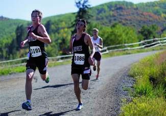 Eagle Valley's Nathan Maddox, left, is part of a Devils boys cross country team that returns just about everyone except for Hunter Burnham, right, for 2013. The guys have made the state meet the last two years and don't think this season should be any different.