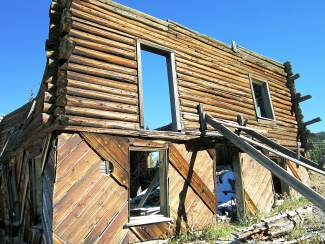 To visit The Observatory, one must drive through the old Alta ghost town, which is filled with sun-scorched buildings of varying decrepitude.