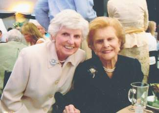 "Ann Repetti enjoyed a close relationships with Gerald and Betty Ford. Betty quipped that, because of Ann's likeness to her, Ann was her ""stand in."""