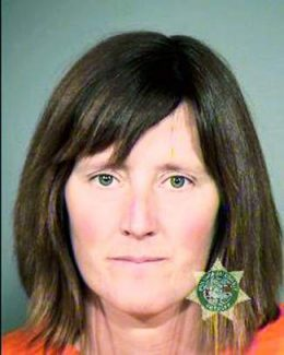 FILE - This undated file photo provided by the Multnomah County Sheriff's Office in Portland, Ore., shows Rebecca Rubin. After seven years on the run, Rubin, a Canadian citizen, turned herself in and pleaded guilty to charges she was part of a cell based in Oregon that set fires around the West trying to reduce logging, ski resort development and wild horse roundups. Her surrender and conviction were voted one of the top Oregon news stories for 2013. (AP Photo/Multnomah County Sheriff's Office, File)